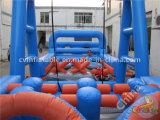 Nuevo Deporte juegos inflables gigantes obstáculo Mad House