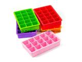 Food Grade 6 plaza de las cavidades de la bandeja de cubitos de hielo de silicona para utensilios de cocina
