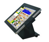""""""" 15 Touch Screen Positions-PC Terminal-System mit Drucker-/Barcode-Scanner"""