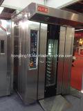 Forno rotativo diesel dei cassetti dell'acciaio inossidabile 16 di vendita della fabbrica per il forno