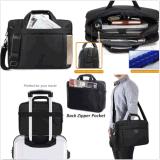 Sac à main de transport de sac d'épaule d'ordinateur de caisse de chemise de sacoche pour ordinateur portable pour DELL
