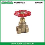 중국 공장은 만들었다 위조한 금관 악기 플랜지 게이트 밸브 (AV4035)를