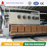 Horno de túnel automático para el ladrillo de la arcilla