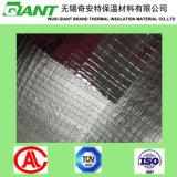 Le tissu tissé de papier d'aluminium, contrecarrent la barrière radiante, isolation de papier d'aluminium