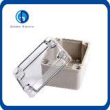 Caixa de junção impermeável ao ar livre do cerco do ABS da alta qualidade com parafusos