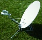 0,9 м алюминиевая Flyaway параболической антенны Vsat