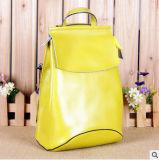 가죽 어깨에 매는 가방 핸드백 한국 형식 가죽 책가방