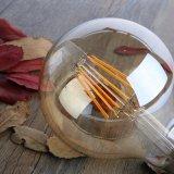 Bulbo ligero del filamento 8W E27 G80 LED