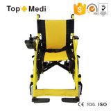 Topmedi preiswertester faltender Leistung-elektrischer Rollstuhl