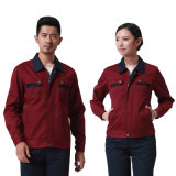 L'uniforme 100% automatique d'ouvrier de coton avec conçoivent en fonction du client