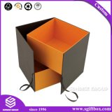 カスタマイズされたペーパー包装の装飾的なギフト簡単なFoldableボックス