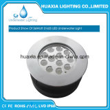 12W IP67 / IP68 LED enterrada luz, LED luz subterráneo
