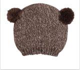 Младенческий симпатичный связанный шлем