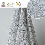 Tissu en dentelle en nylon, matériau floral délicat pour textiles domestiques Ln10029