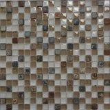 15*15 Mosaico de vidrio con mosaico de piedra