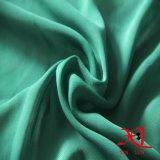 Tecido de poliéster verde chiffon para vestido / Hijab / cachecol