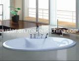 1350mm rotondo Costruire-nella STAZIONE TERMALE della vasca da bagno (AT-001-2)