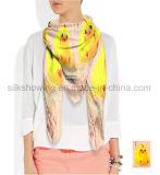 Madame estampée par animal neuf Fashion Silk Scarf de Deisgn