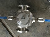 150lb 2'' Lanceur de porc valve en acier inoxydable