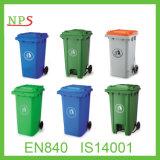 360 Bak van het Afval van de Bak van het Huisvuil van de liter de Openlucht Plastic (plastic vuilnisbak) met En840