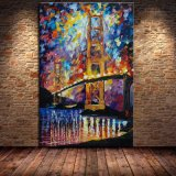 Hotel Decoration Abstract Art Picture Printed on Canvas
