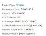 Sanyou высокого напряжения постоянного тока реле Sev100