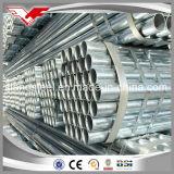 A tubulação galvanizada do aço suave fixa o preço da tubulação galvanizada 2 polegadas para a tubulação de gás