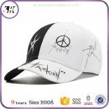 6 Panel-Vati-Hüte passten Prited Firmenzeichen-Baseballmütze-Qualitäts-Baumwollsport-Schutzkappe an