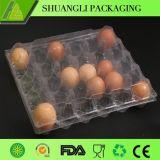 Cassetto di plastica dell'imballaggio per uova del PVC della bolla