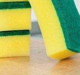 Polidor da esponja da cozinha, almofadas de limpeza da cozinha