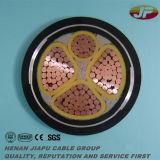 câble d'alimentation de 300/500V Cu/XLPE/PVC avec l'armure en acier de bande/fil
