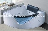 BALNEARIO de la bañera del masaje de la esquina del sector de 1600m m con el Ce RoHS para 2 personas (AT-0754)