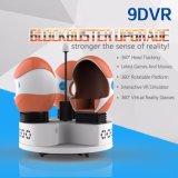 360 정도 아이를 위한 대화식 가상 현실 9d 영화관 시뮬레이터 9d Vr 단 하나 계란 영화관