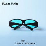 Lasersicherheits-Gläser Rhp O.D4+@600-700nm für Laser 635nm, 660nm Laser, Laser 694nm