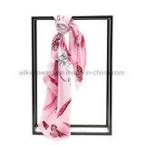 Impression en soie colorée personnalisée d'écharpe de Digitals dans de bonne qualité