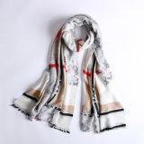 Bufanda de las lanas de la impresión del estilo de Gemortic de la manera para las mujeres
