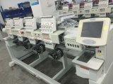Computerisiert 9/12 Hauptstickerei-Maschine der Nadel-4 für T-Shirt, Kleid, Hut-Stickerei Wy 904c/1204c