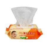 専門の安い赤ん坊は赤ん坊のぬれたワイプを拭く