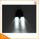 Luz ao ar livre dupla ajustável da parede da potência solar do diodo emissor de luz da cabeça 14