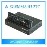 空気デジタル強力なZgemma H3.2tc衛星Receiver&Decoder Bcm7362 Linux OS E2 DVB-S2+2*DVB-T2/Cはチューナー二倍になる