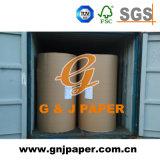 Pulpa de madera virgen Carrete Tamaño papel offset con buena calidad