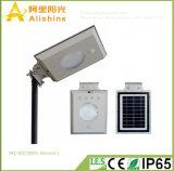 5W de MilieuLamp van RoHS met de Sensor van de Pastei van LEIDENE Zonne Lichte Fabriek