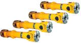 Professional пользовательские телескопические детали приводного вала карданного шарнира