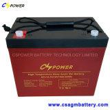 12V55ah Cspower lange Lebensdauer-Gel UPS-Hochtemperaturbatterie