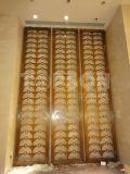 Topson titane en or en acier inoxydable écran diviseurs de salle pour la décoration d'intérieur