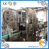 Máquina de etiquetado plástica automática de la funda de la botella