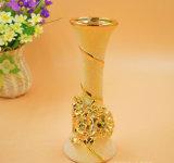 De Europese Vazen van de Decoratie van het Huis van de Vaas van de Bloem van de Manier DIY Ceramische Kleine Ceramische
