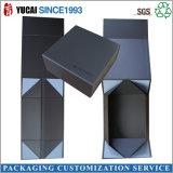 2017년 새로 디자인된 까만 서류상 선물 상자 포장 상자