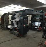 6 Machine van de Druk van zes Kleur Flexographic van Chinese Fabriek