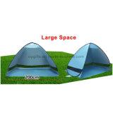 Schneller automatischer geöffneter Sun-Farbton-Schutz-im Freien kampierender Strand knallen oben Zelt